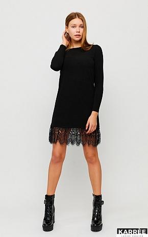 Платье Гауди, Черный - фото 1