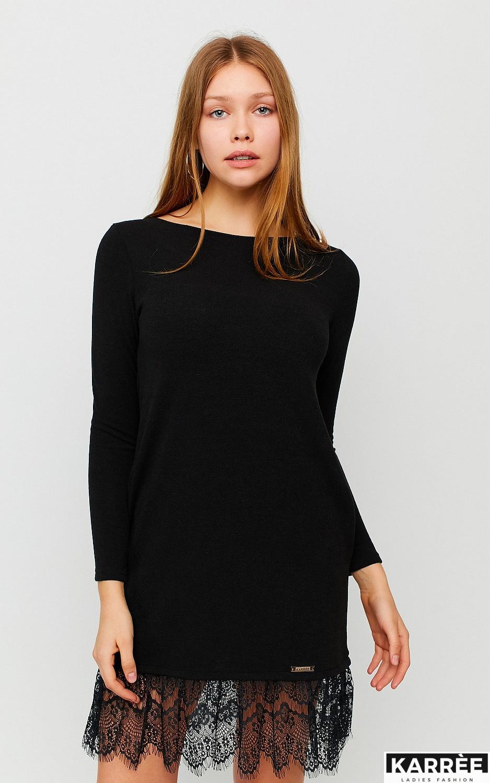 Платье Гауди, Черный - фото 2