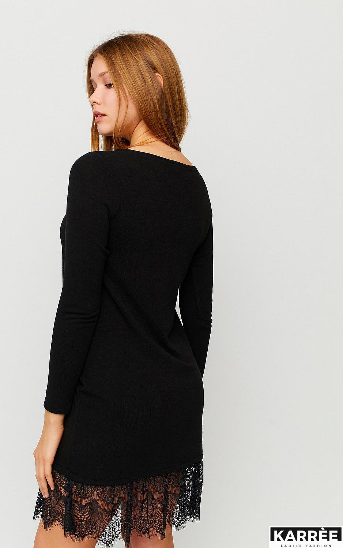 Платье Гауди, Черный - фото 3