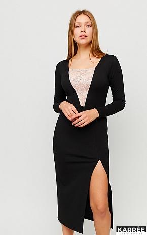 Платье Тоскана, Черный - фото 1