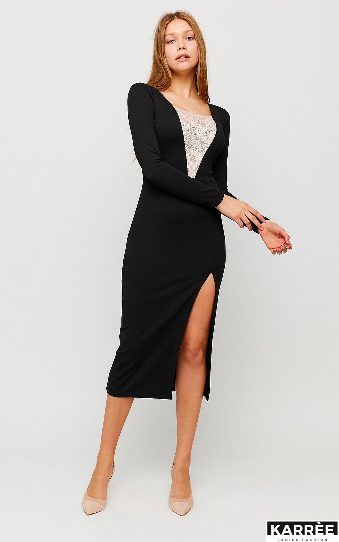 Платье Тоскана, Черный - фото 3