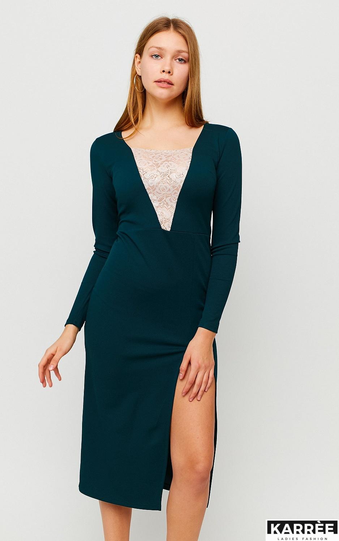 Платье Тоскана, Темно-зеленый