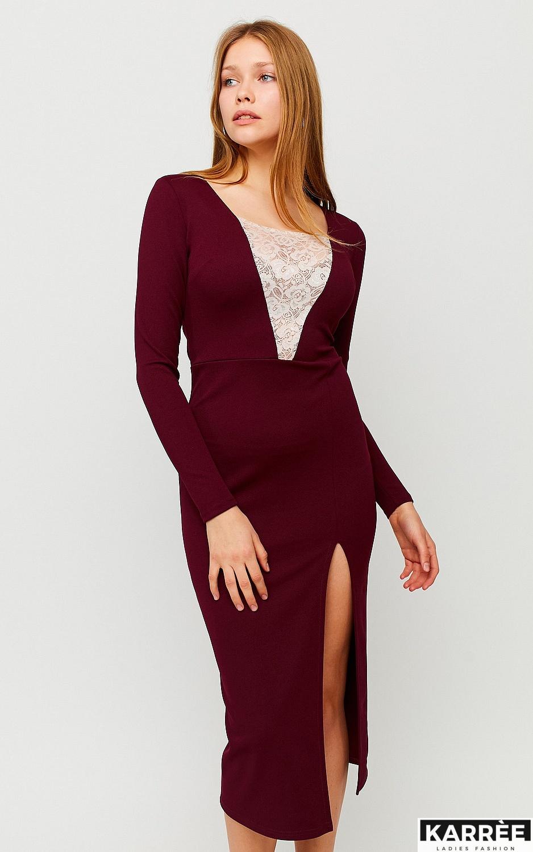 Платье Тоскана, Марсала