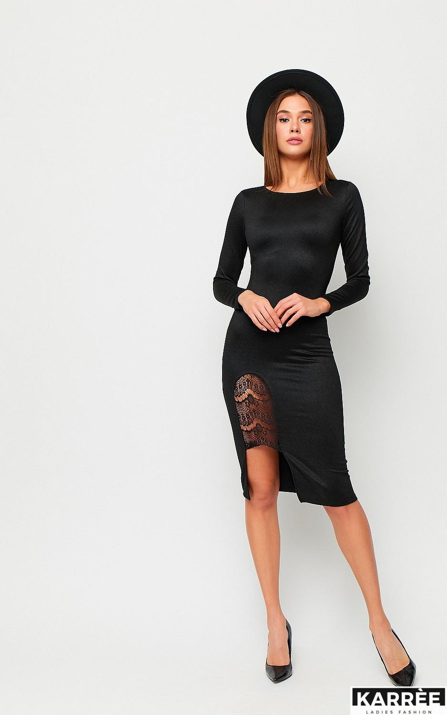 Платье Шардоне, Черный - фото 2