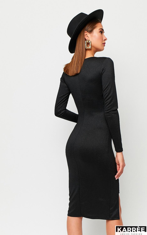 Платье Шардоне, Черный - фото 3