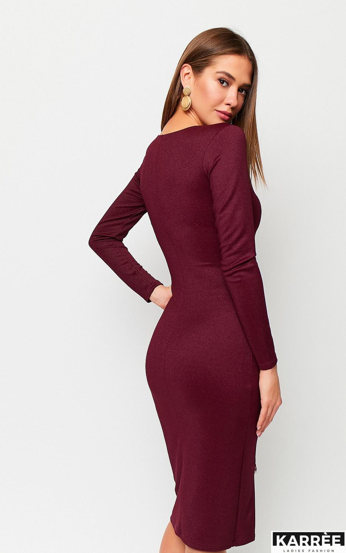Платье Шардоне, Бургунди - фото 2
