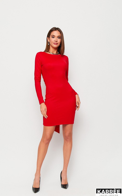 Платье Нуар, Красный
