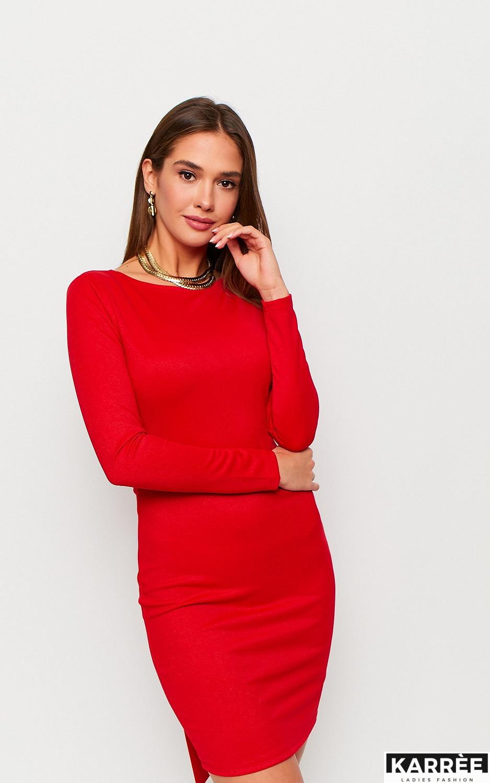 Платье Нуар, Красный - фото 3