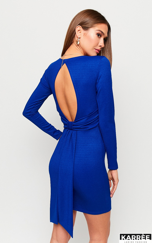 Платье Нуар, Синий