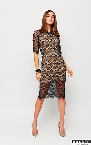 Платье Совиньон, Черный - фото 1