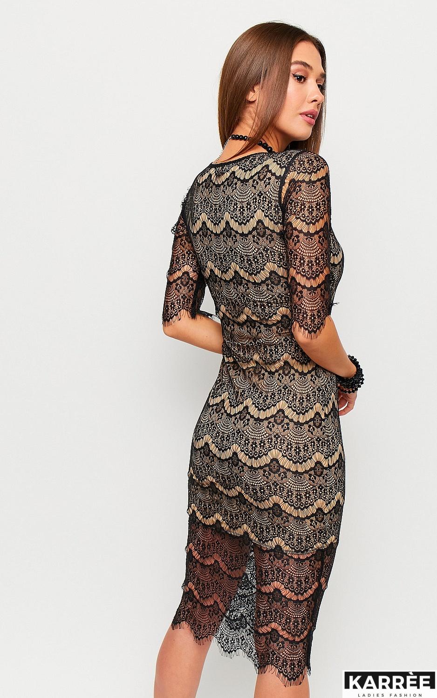 Платье Совиньон, Черный - фото 3