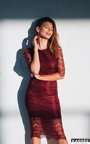 Платье Совиньон, Марсала - фото 1