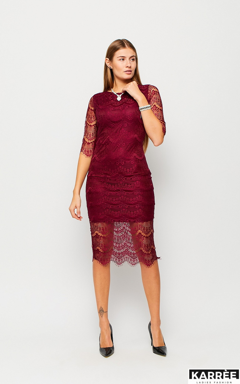 Платье Совиньон, Марсала - фото 4