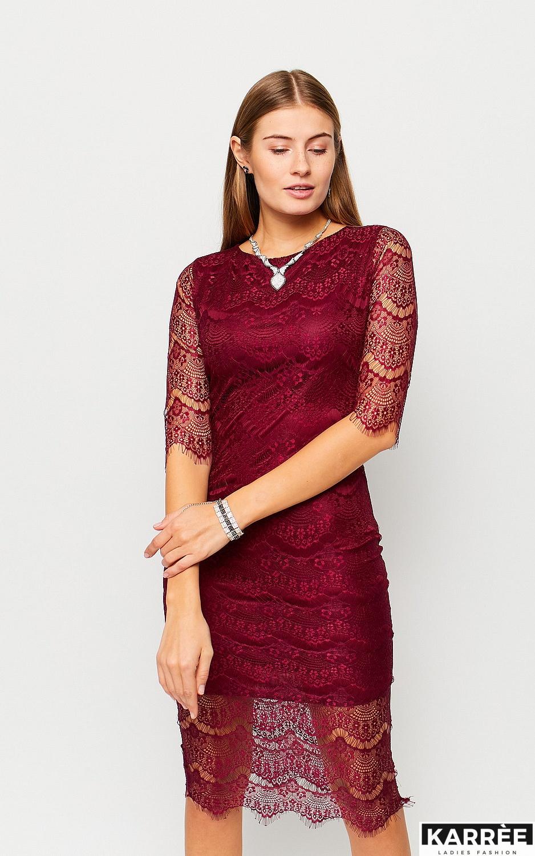 Платье Совиньон, Марсала - фото 2