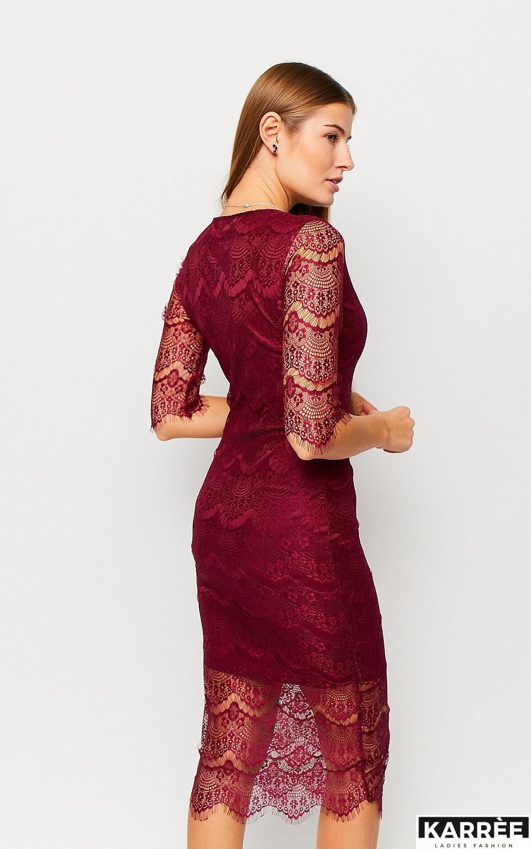 Платье Совиньон, Марсала - фото 3