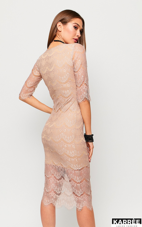 Платье Совиньон, Бежевый