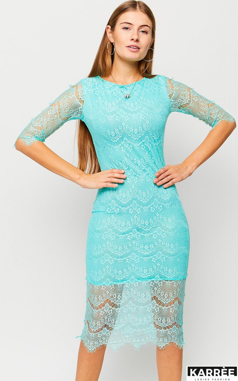 Платье Совиньон, Ментоловый