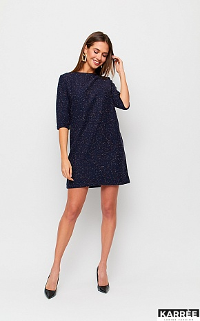 Платье Ассоль, Темно-синий - фото 1
