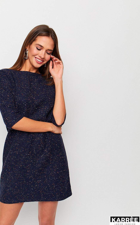 Платье Ассоль, Темно-синий - фото 2