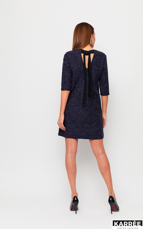Платье Ассоль, Темно-синий - фото 3