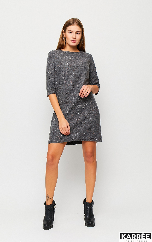 Платье Ассоль, Серый - фото 3
