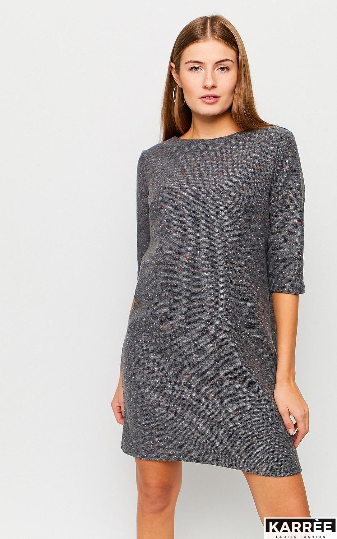 Платье Ассоль, Серый - фото 2