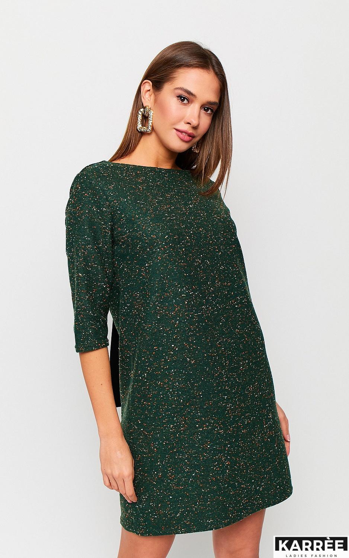 Платье Ассоль, Темно-зеленый