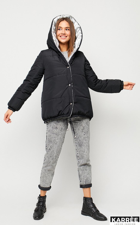 Куртка Дени, Черный - фото 5