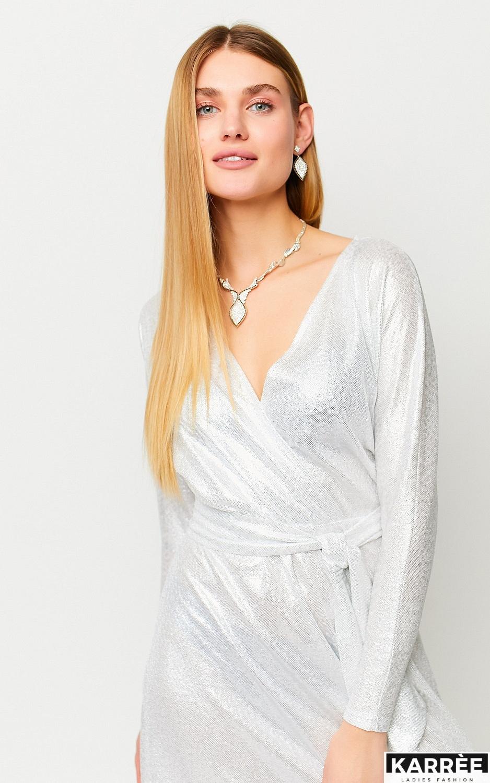 Платье Рикотта, Белый