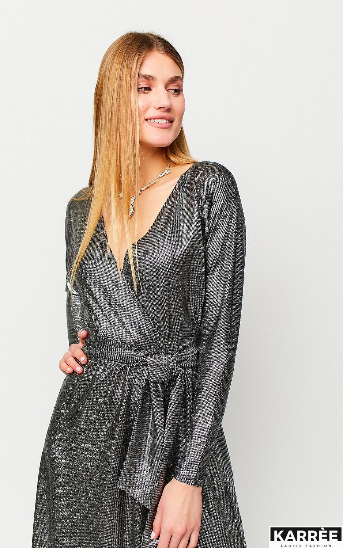 Платье Рикотта, Черный
