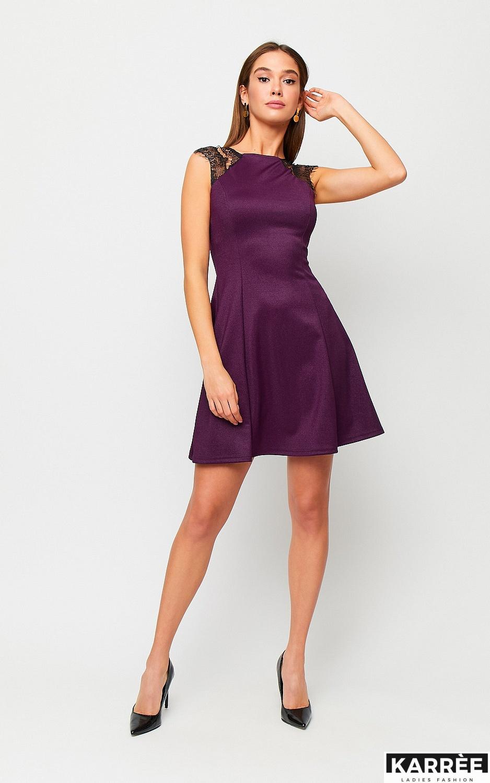 Платье Брют, Фиолетовый - фото 3