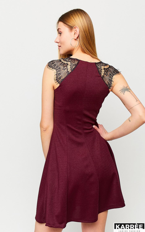 Платье Брют, Марсала - фото 3