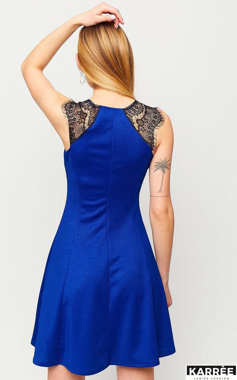 Платье Брют, Синий
