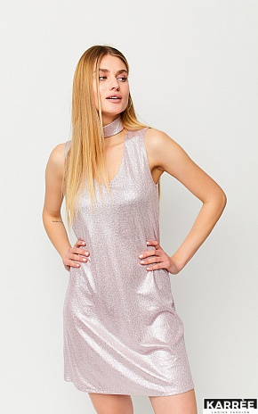 Платье Мемфис, Пудровый - фото 1