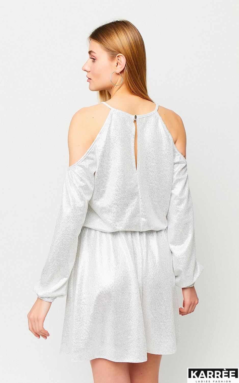 Платье Сабина, Белый - фото 3