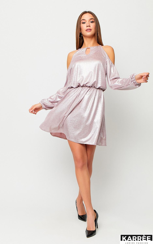 Платье Сабина, Пудровый