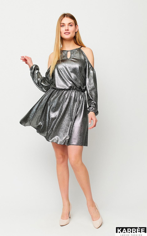 Платье Сабина, Черный - фото 3