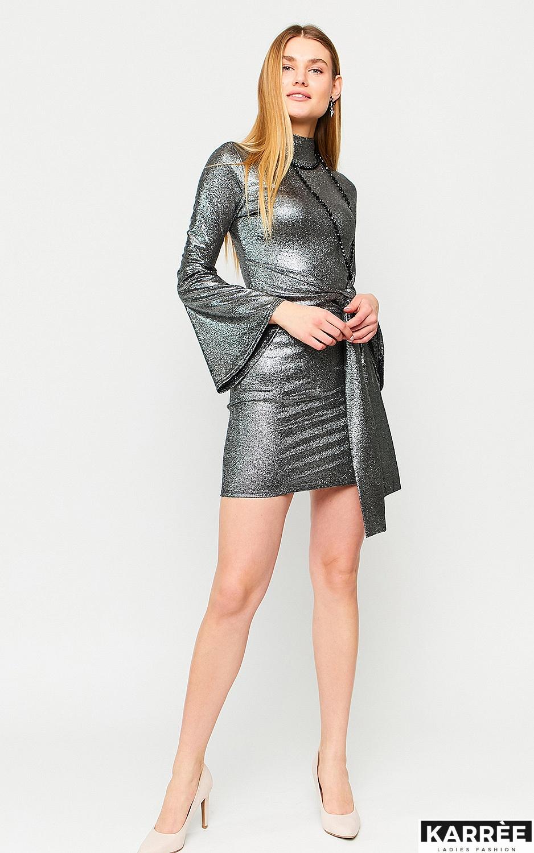 Платье Сьюзи, Черный - фото 3