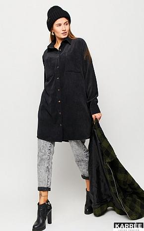 Платье Каркаде, Черный - фото 1