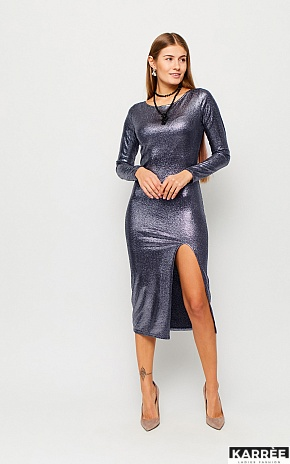 Платье Муза, Темно-синий - фото 1