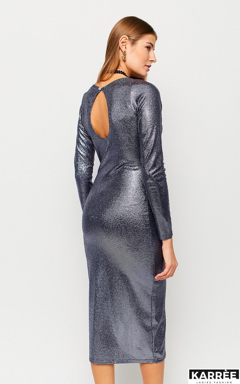 Платье Муза, Темно-синий - фото 3