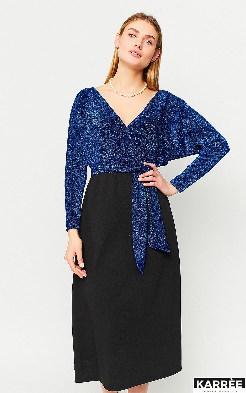 Платье Надин, Синий - фото 3