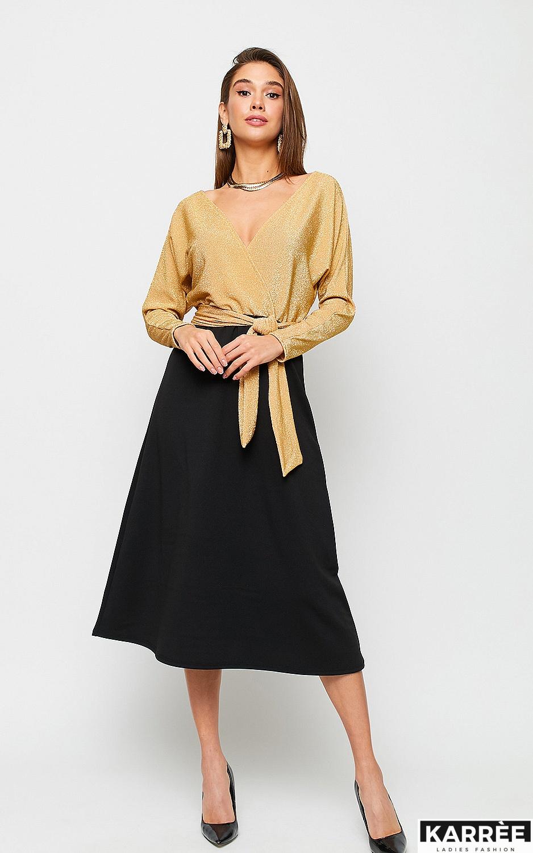 Платье Надин, Золото - фото 2
