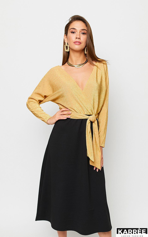 Платье Надин, Золото - фото 3