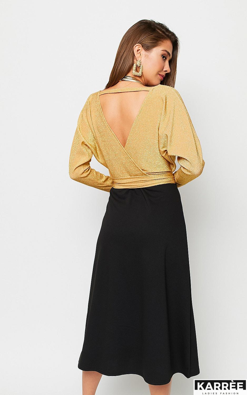 Платье Надин, Золото - фото 4