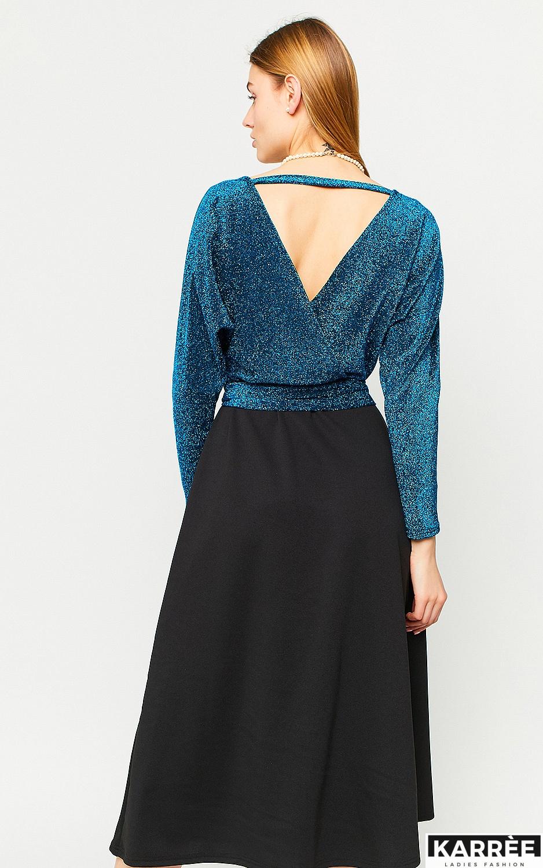 Платье Надин, Бирюза