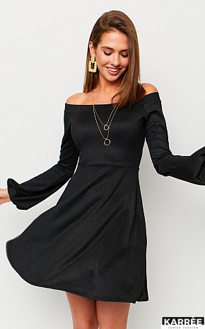 Платье Астрид, Черный - фото 1