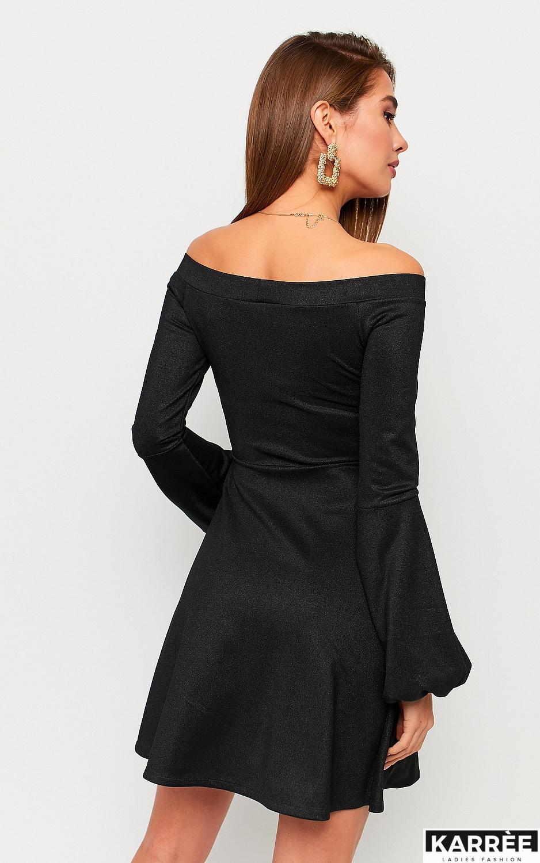 Платье Астрид, Черный