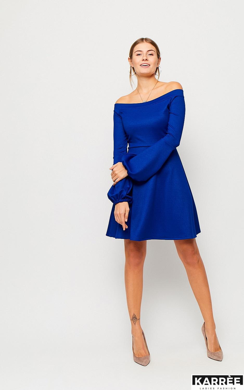 Платье Астрид, Синий - фото 3
