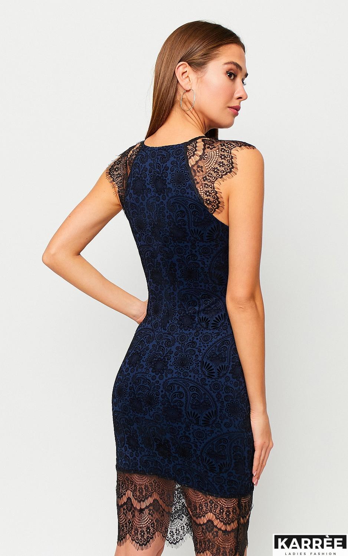 Платье Таса, Синий